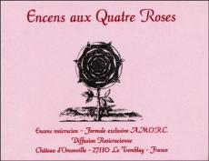 Rosicrucian Incense - Four-Roses cubes (24 per box)