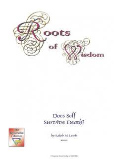 Does Self Survive Death?