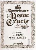 The American Rosae Crucis Magazine - January 1916